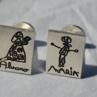 gemelos personalizados con dibujos mr broc