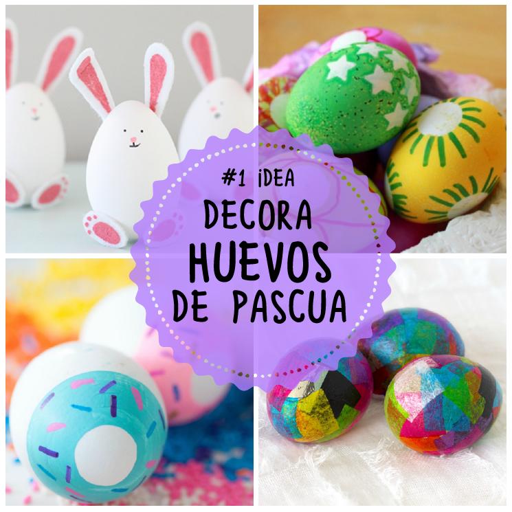 decora huevos de pascua