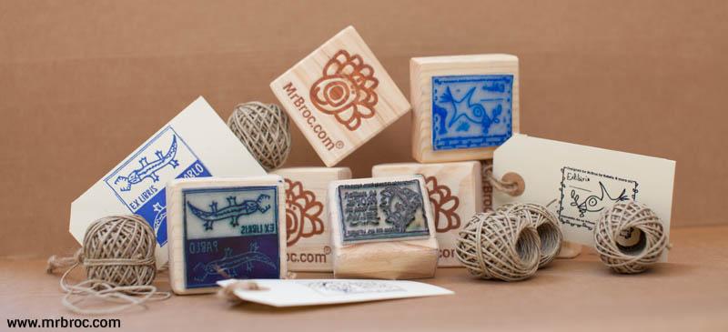 broc sellos personalizados con los dibujos de tus niños. www.mrbroc.com