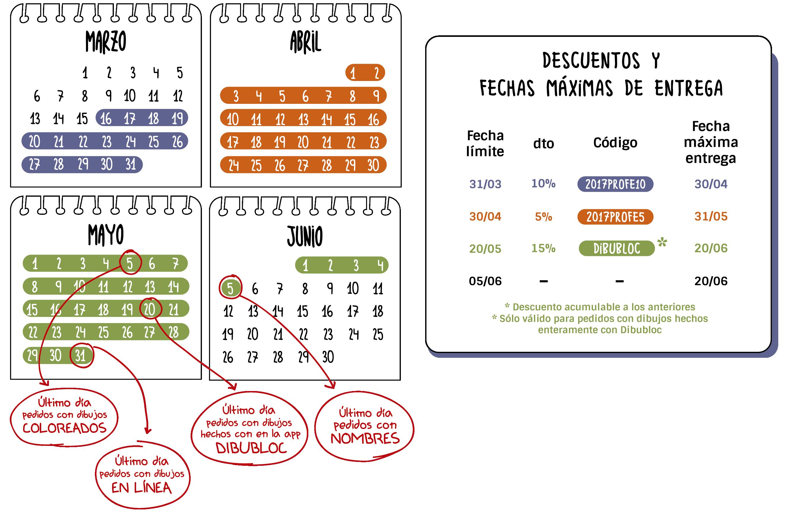 Calendario Regalos al Profe MrBroc