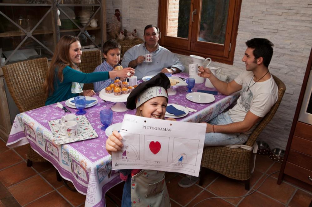 Broc Mantel Personalizado con los dibujos de los niños |MrBroc