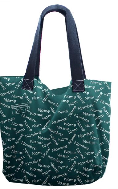 Broc bolso personalizado con nombres | MrBroc