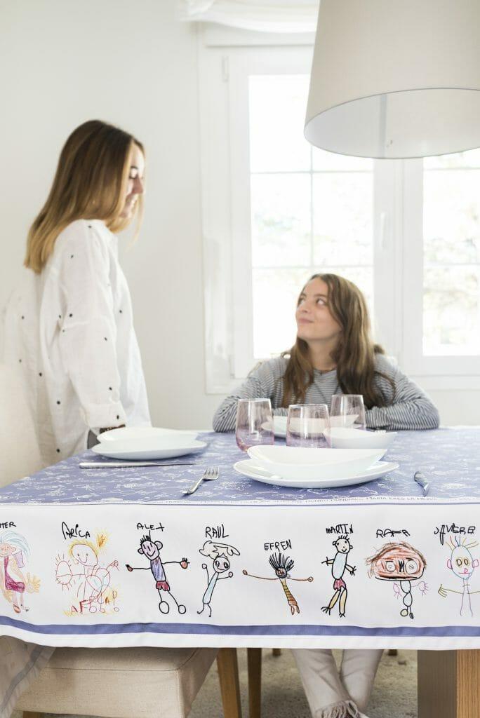 regalo al profe personalizado con los dibujos de sus niños