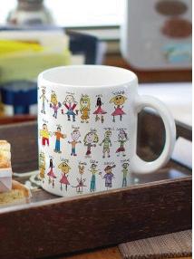 regalo al profe: tazas personalizadas con dibujos