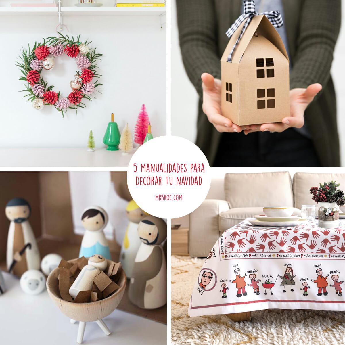 5 manualidades para decorar vuestra casa esta navidad mr - Ideas decoracion navidad manualidades ...