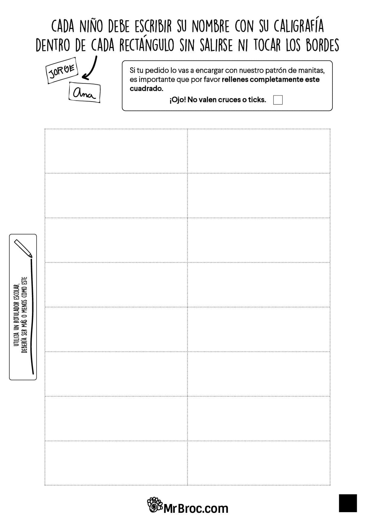 Contemporáneo Escribir Plantillas Con Bordes Elaboración - Ejemplo ...
