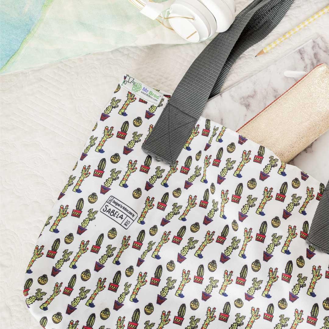 bolsos personalizados mr broc dibujos