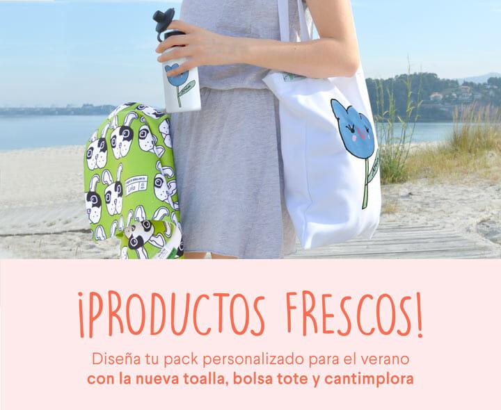 mr broc regalos personalizados toallas bolsa tote cantimplora personalizada