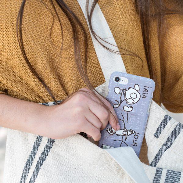 carcasas personalizadas mr broc dibujos samsung iphone