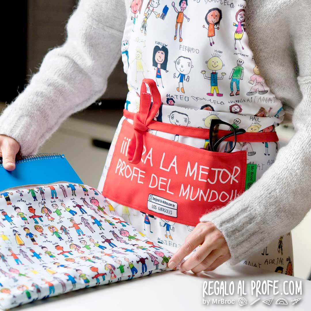delantal personalizado regalos para profesores