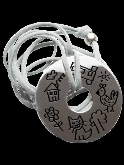colgantes personalizados plata dibujos nombres mr broc