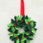 Diy corona navidad
