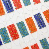 Mascarillas rayos colores MrBroc 3