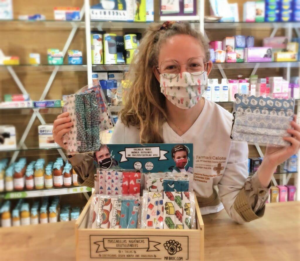 mascarillas mrbroc certificadas de venta en farmacia