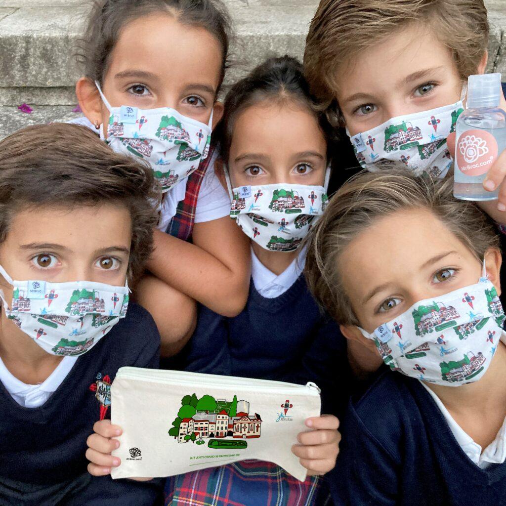 mascarillas personalizadas colegios
