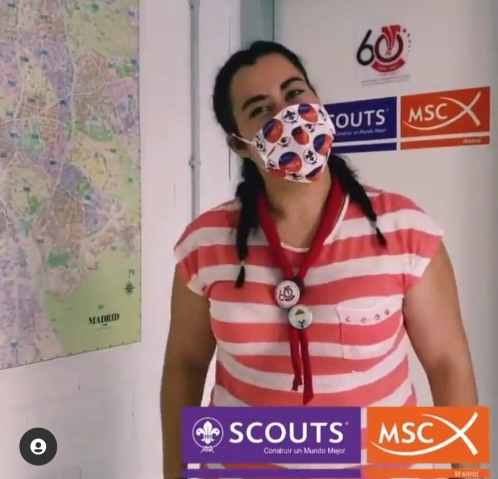 mascarillas personalizadas scouts Madrid