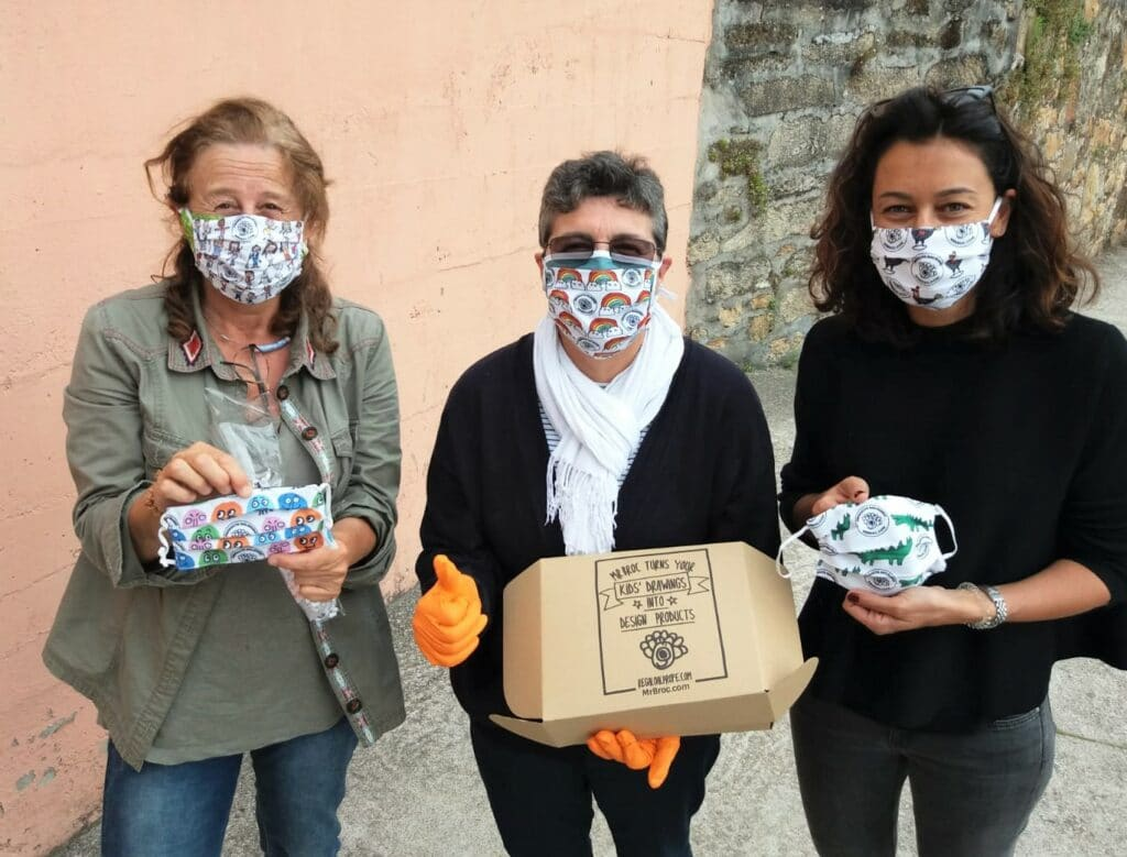 donación mascarillas Hogar Social