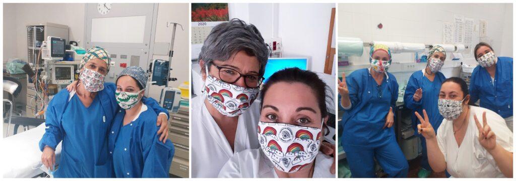 mascarillas solidarias personal sanitario