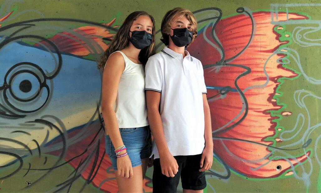 mascarillas negras para adolescentes y adultos