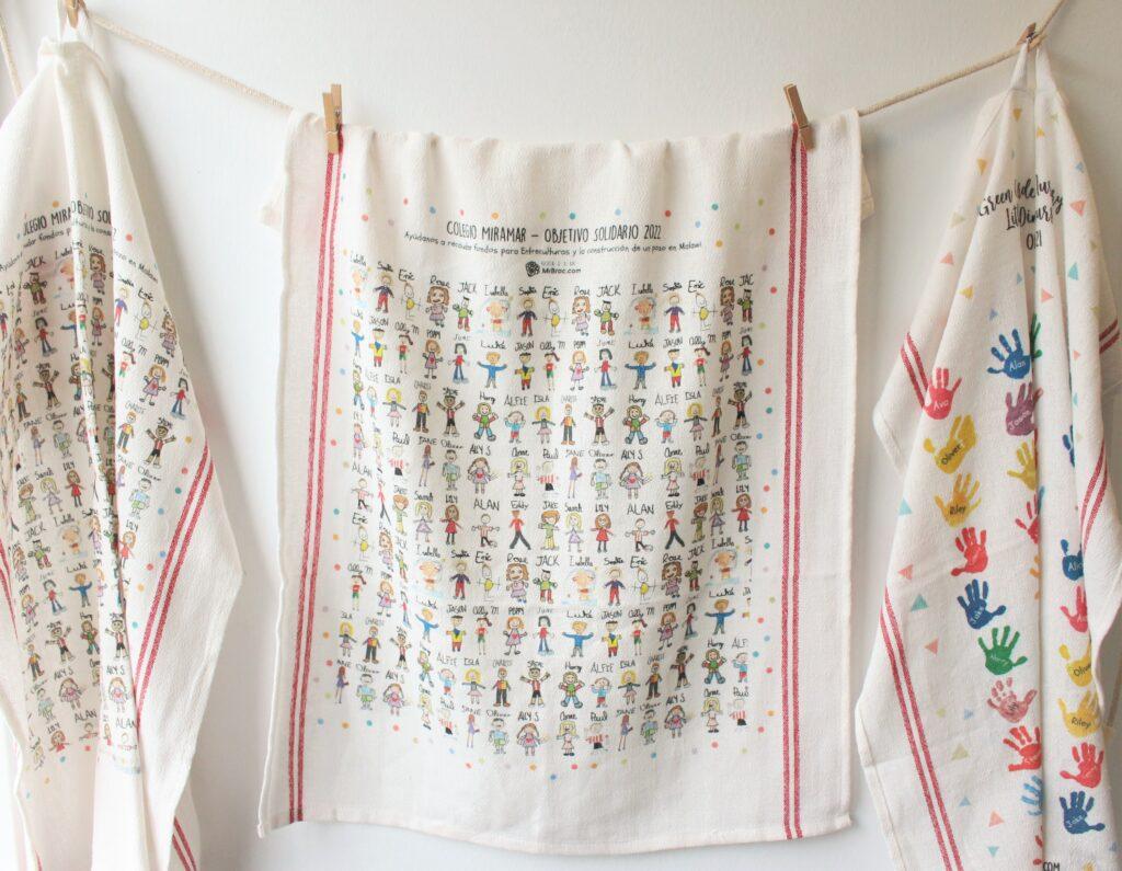 tea towels school fundraising