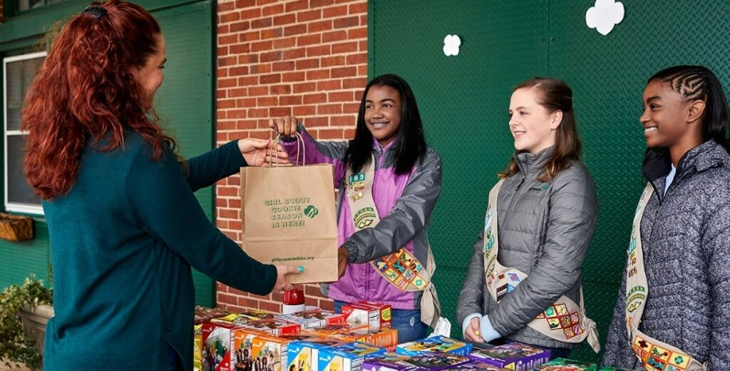 girls scouts fundraising